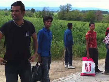 Grecia inmigrantes
