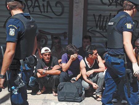 Grecia refugiados