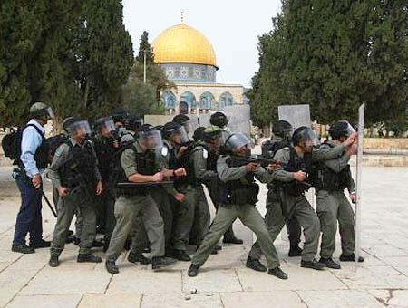 Jerusalen policia israeli alaqsa
