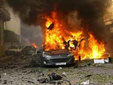 Libano atentado explosion