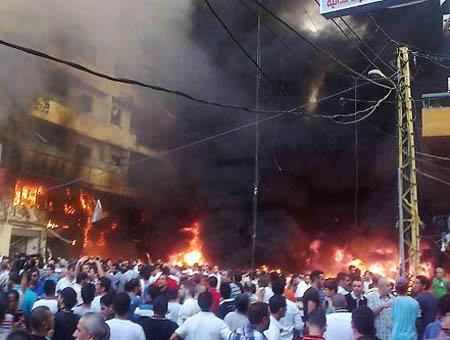 Libano beirut atentado explosion
