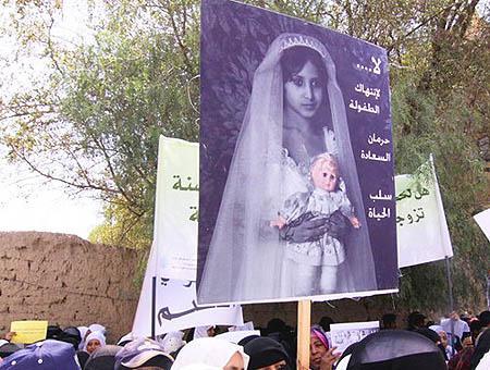 Matrimonio ninas paises arabes