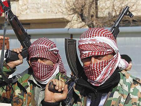 Siria rebeldes
