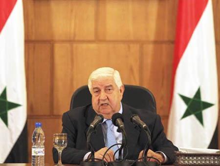 Siria walid muallem