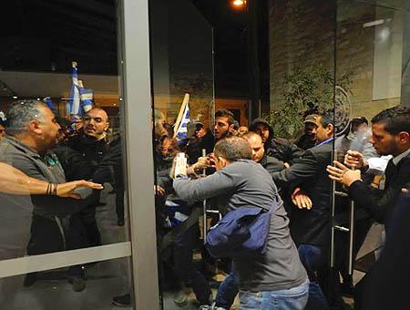 Chipre protesta nacionalistas griegos