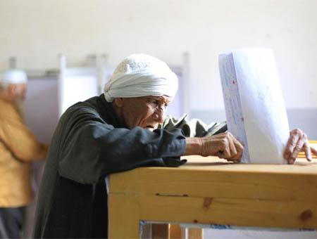 Egipto elecciones votacion