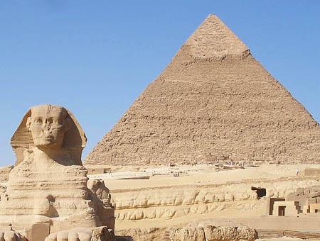 Egipto esfinge piramide
