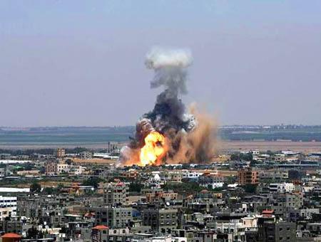 Gaza bombardeos(3)