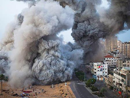 Gaza bombardeos(4)