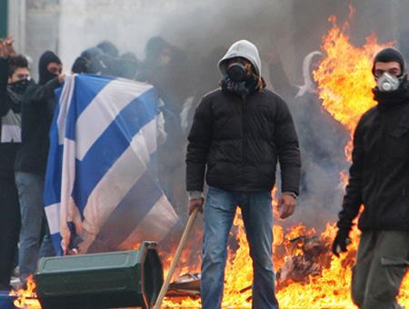 Grecia protestas