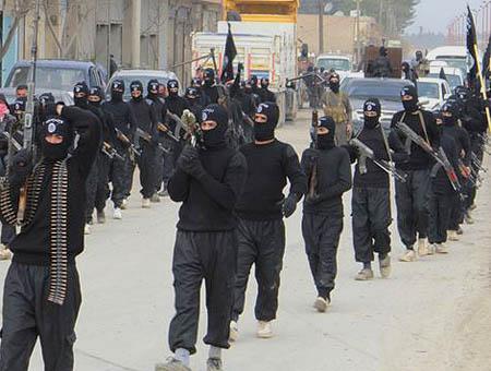 Isil yihadistas siria