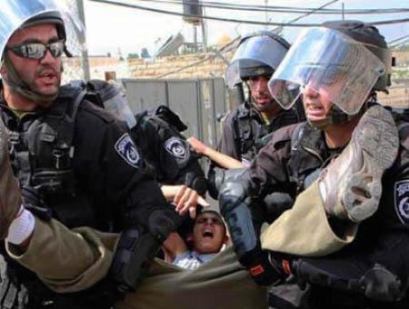 Israel detencion menor palestino