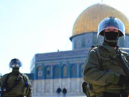 Israel jerusalen soldados aqsa