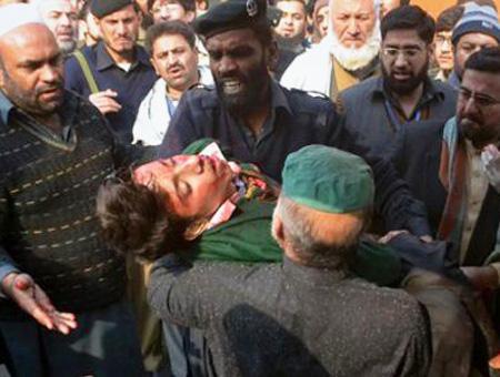Pakistan atentado escuela