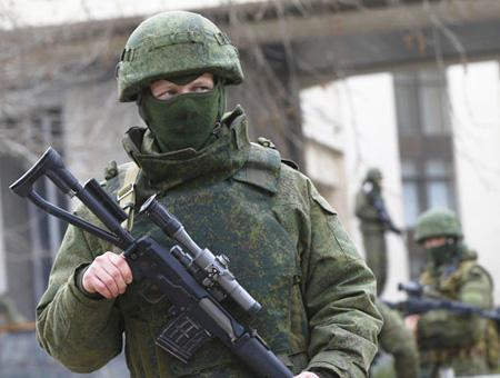 Rusia caucaso soldados