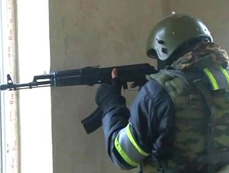 Rusia soldado daguestan