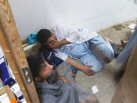 Afganistan bombardeo hospital msf