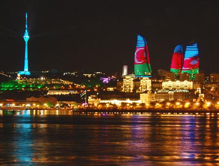 Azerbaiyan baku torres
