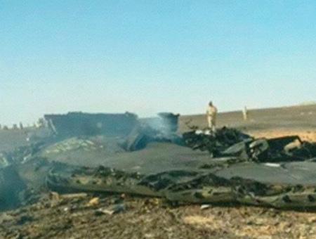 Egipto avion estrellado