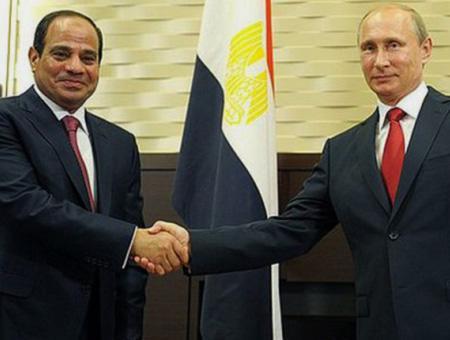 Egipto sisi rusia putin