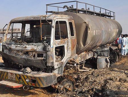 Pakistan accidente explosion