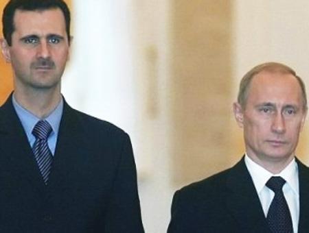 Siria assad putin