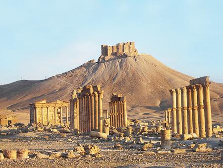 Siria palmira ruinas