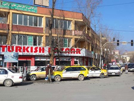Afganistan kabul bazar turco