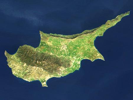 Chipre isla satelite