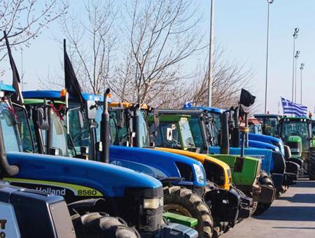 Grecia tractores protesta