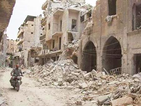Siria alepo destruccion