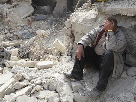 Siria bombardeos civiles