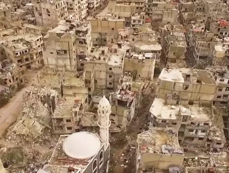 Siria homs destruccion