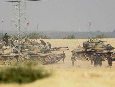 Siria tanques ejercito turco
