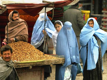 Afganistan mujeres mercado