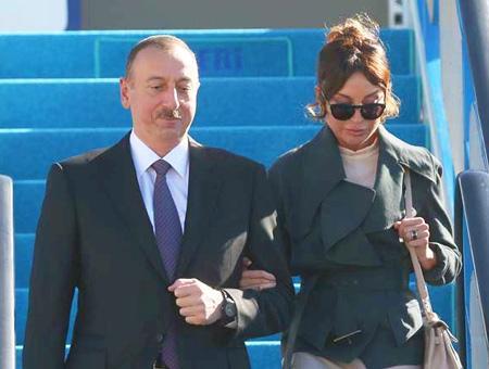 Azerbaiyan aliyev aliyeva