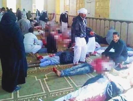 Egipto atentado heridos