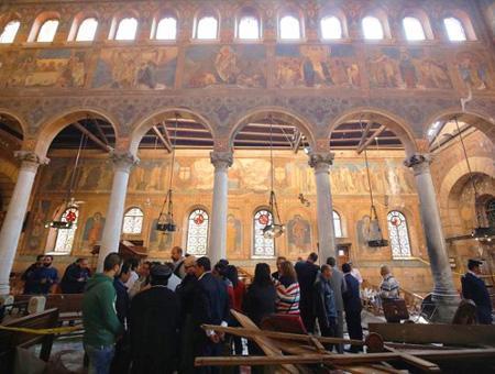 Egipto atentado iglesia copta