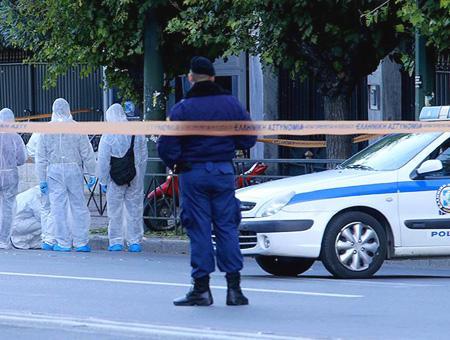 Grecia atenas policia