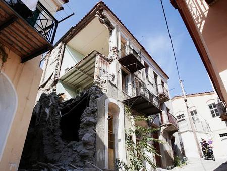 Grecia terremoto lesbos