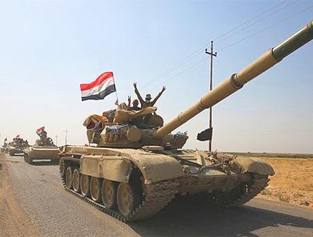 Irak ejercito iraqui victoria