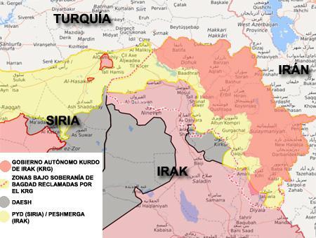 Irak kurdos oriente medio