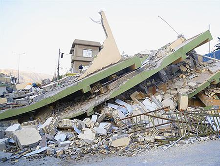 Irak terremoto seismo destruccion