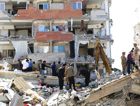 Iran terremoto destruccion