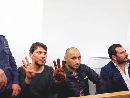 Los tres turcos detenidos comparecen ante el tribunal israelí