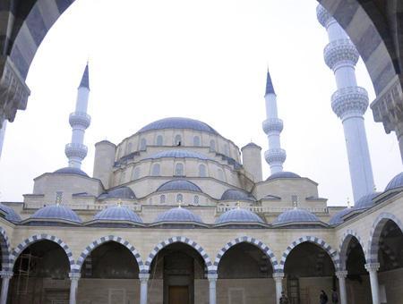 Kirguistan mezquita central biskek