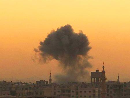 Siria ataque bombardeo