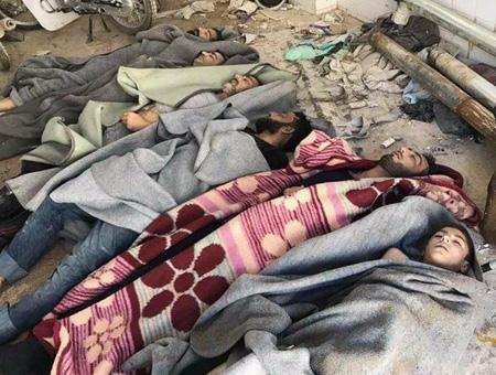 Siria ataque quimico idlib