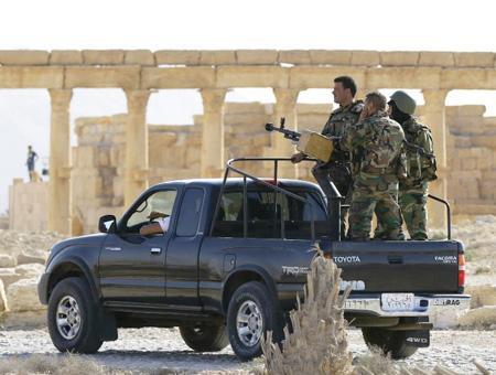 Siria ejercito sirio palmira