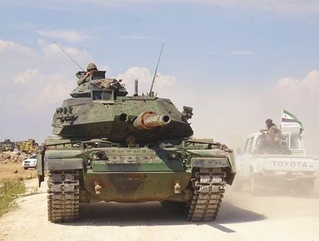 Siria els ejercito turco